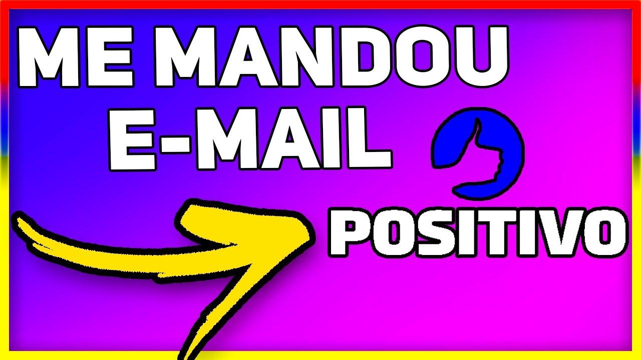 POSITIVO ME MANDOU E-MAIL, SERÁ QUE ME AMEAÇARAM? 🤔