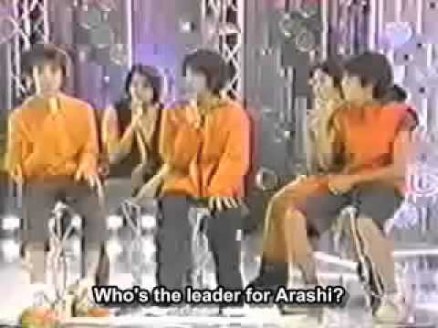 Ohno satoshi becoming arashi Leader.
