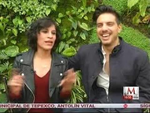 Vadhir Derbez y Ximena Ayala hablan de 'El tamaño sí importa'