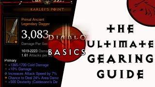 Diablo 3 Basics - The Ultimate Gearing Guide