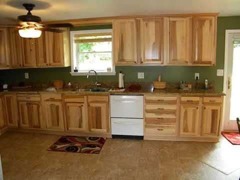 Kitchen Colors With Hickory Cabinets Youtube