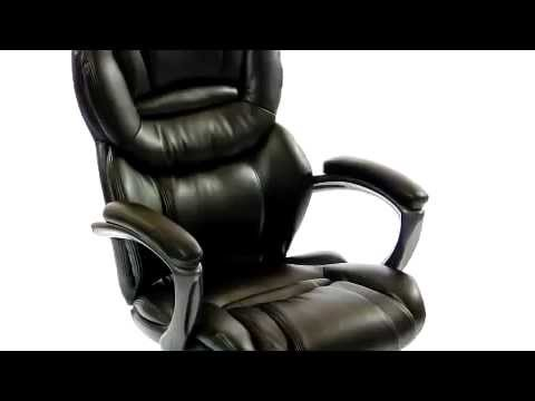 Cullincini Flash Furniture High Back Brown Leather Executive Office Chair GO 901 BN GG