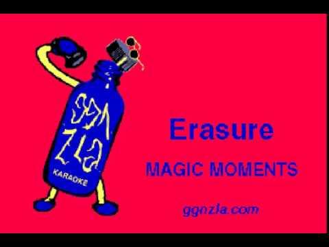 ggnzla KARAOKE 322, Erasure - MAGIC MOMENTS