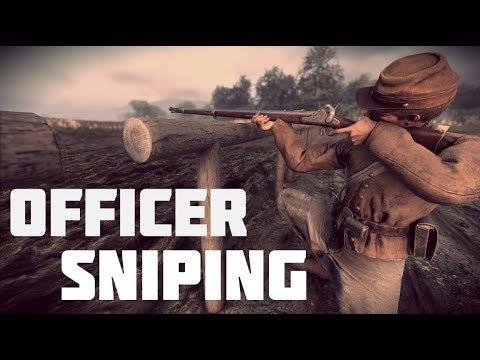"""War of Rights - """"Officer Sniper"""""""