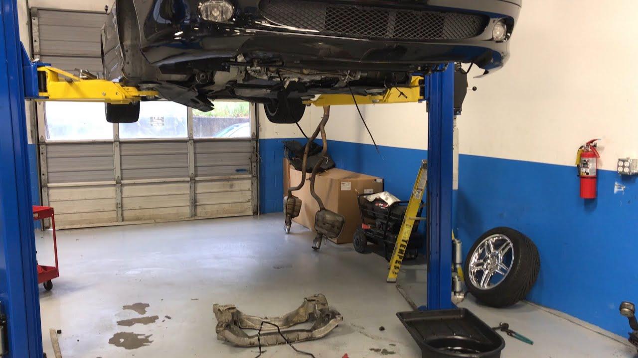 Mercedes Benz SL Active Body Control Repair Hydraulic Fluid - Mercedes benz body repair