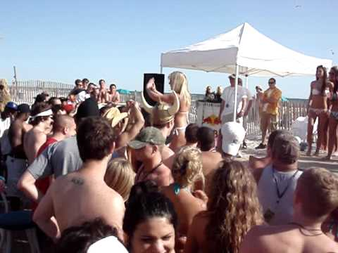 Bikini party spring break 2010 Panama beach city