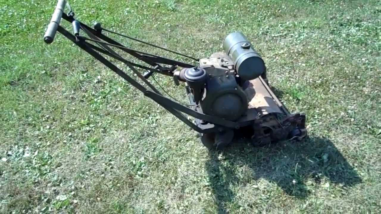 Milbradt Mower With Briggs A Youtube