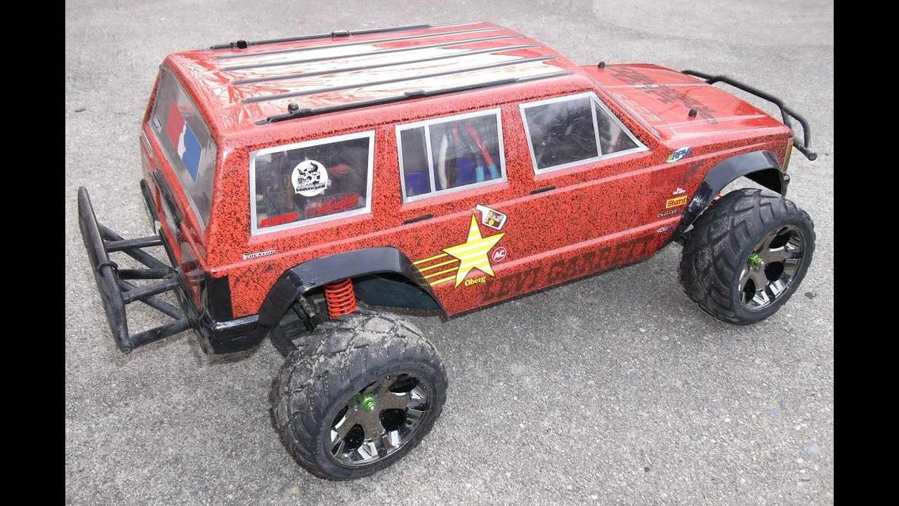 """Traxxas Slash 4X4 """"Speckles The Jeep"""" on 6s"""