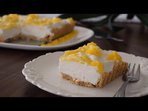 Lemon & Mascarpone No-Bake Tart Recipe | GO Delicious