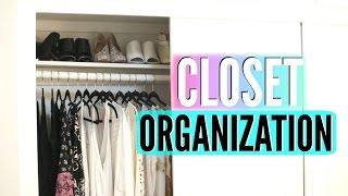 Closet Organization Tips! Organize Your Closet For Back To School!