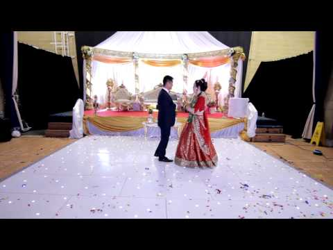 Best Couple Dance In Oh Karam Khudaya Hai || SandeepWedsPrerana ||
