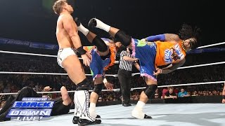 Erick Rowan & The Usos vs. Luke Harper, The Miz & Damien Mizdow - Six-Man Tag Team Match