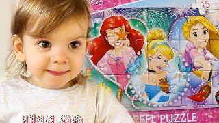 Дисней Принцессы ПАЗЛЫ Disney Princess trefl puzzle