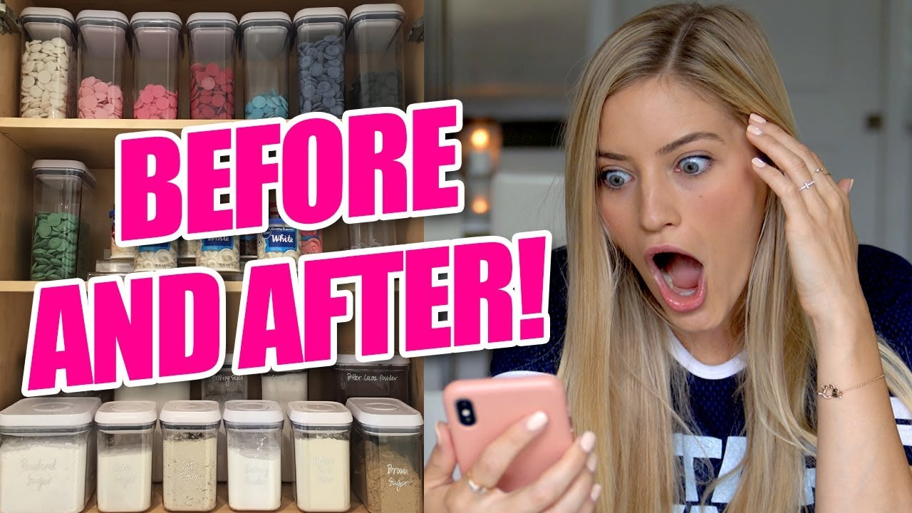 House Organization Before and After! OMG!