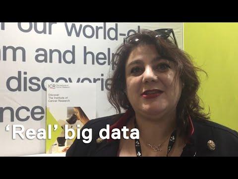 NCRI 2017: Dr Bissan Al-Lazikani on 'Real' big data