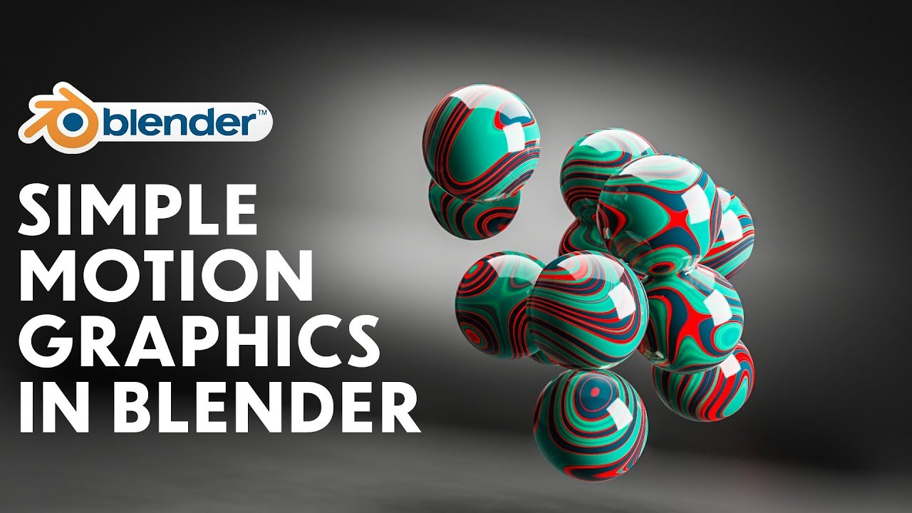 Blender - Simple Motion Graphics in Blender 2 8