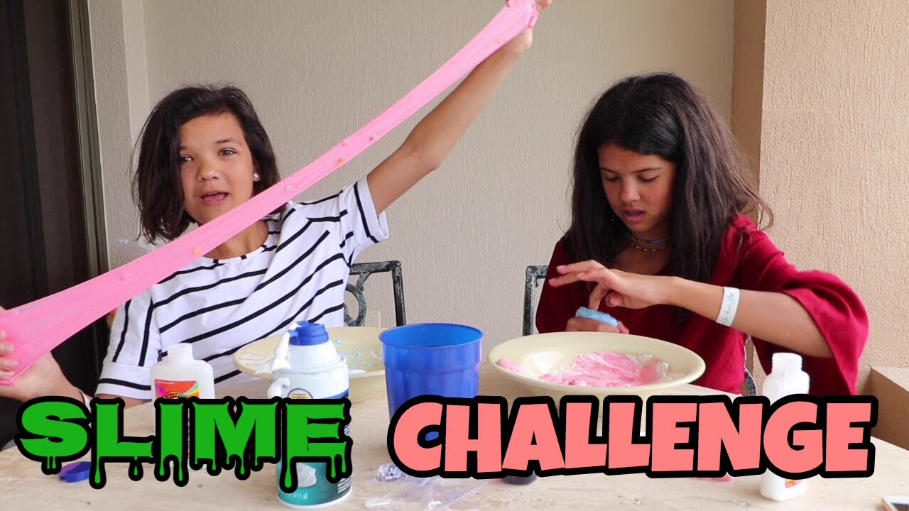 30 SECOND SLIME CHALLENGE - YouTube