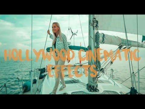FILMORA 9 | HOLLYWOOD STYLE | COLOUR GRADING AND BLACK BAR | TUTORIAL DEMO | SKV !