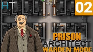 Prison Architect Warden Mode - Ep 02 - Cell Block A - Let