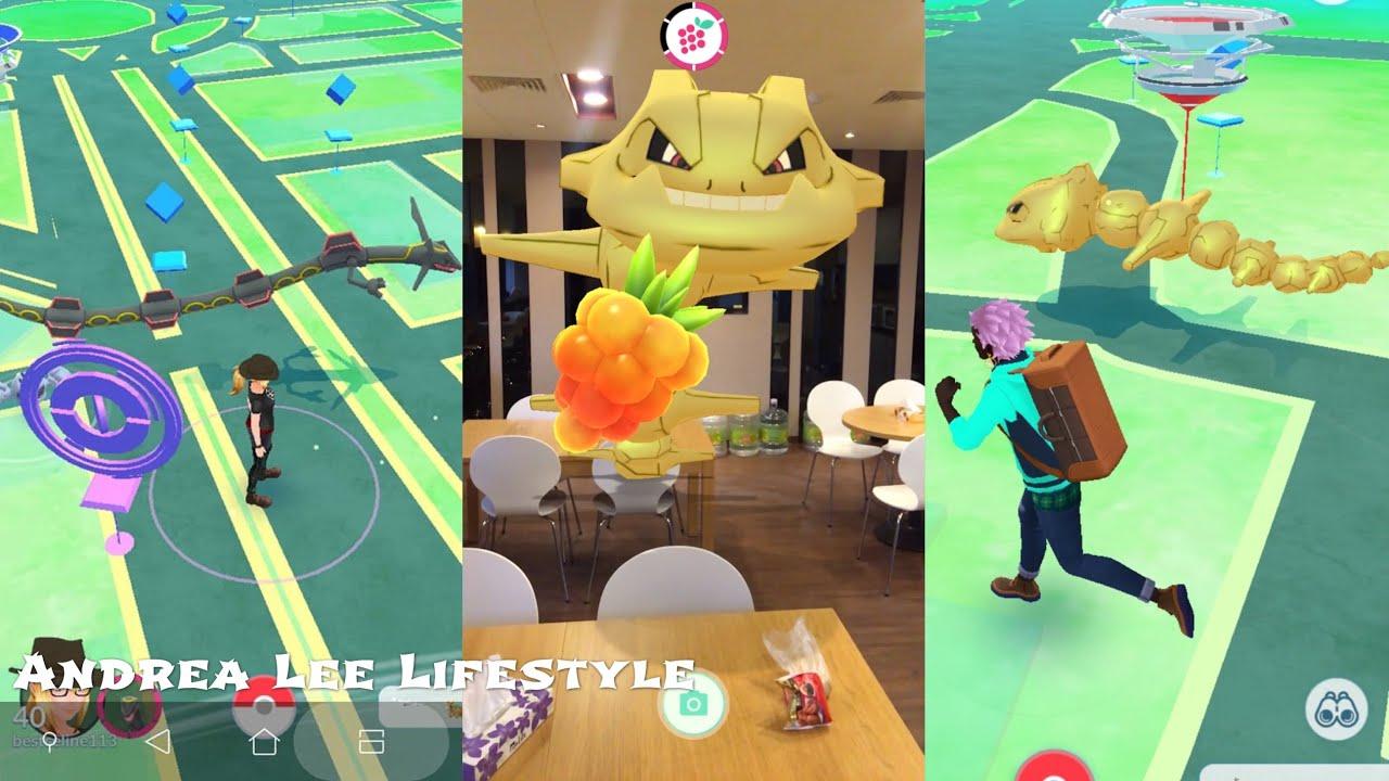 《Pokemon Go》餵寶可夢伙伴吃最珍貴的金莓果!感覺身邊有寶可夢 ...