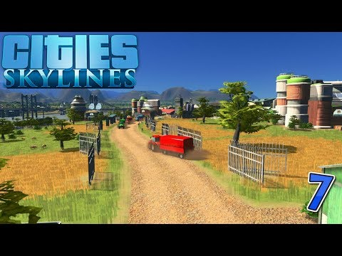 Farm Land! - More Industry Jobs! - Train Expansion! - (Cities Skylines)