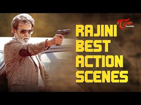 KABALI Rajinikanth Best Telugu Action Scenes | Baashha, Arunachalam, Narasimha