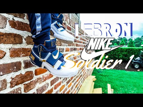 Nike Lebron Soldier 1 Pick Up, Review, Epic On Foot