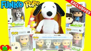 Peanuts Movie Funko Pop and Exclusive Minis with Happy Dance Snoopy