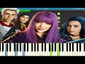 Disney S Descendants 2 Ways To Be Wicked Piano Tutorial mp3