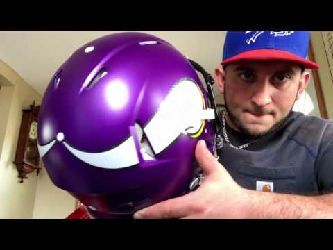 Unboxing Vikings Authentic Helmet !!! NEW !!!