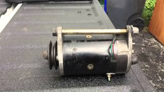 12 Volt electric motor identification.
