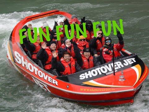 Shotover Jet / Shotover River Queenstown VLOG #8