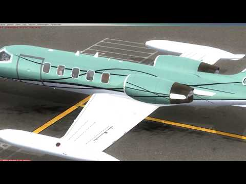 [FSX Boxed] Fort Lauderdale FL to Kingston Jamaica feat. Flysimware's Learjet 35A - pt. 1