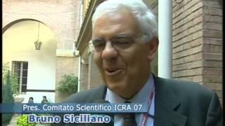 Prof. B. Siciliano intervista per ICRA 2007 - TG3 Nea Polis - 17 Apr 2007