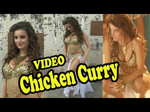 Natalia Hot Video Song Shoot For Film Chicken Curry & Law Hindi