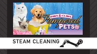 Steam Cleaning - Paws and Claws: Pampered Pets