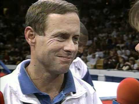 Peter Kormann Interview - 1996 Olympic Trials - Men - Day 2