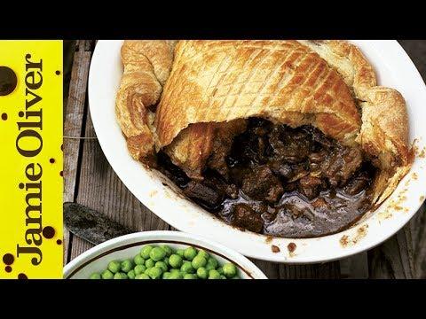 Steak & Guinness Pie - Jamie at Home