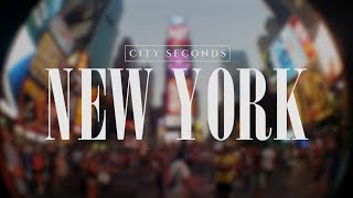 City Seconds - New York, USA