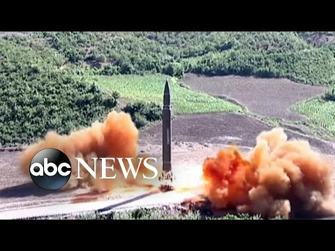 North Korea's latest missile launch splashes down in the Sea of Japan