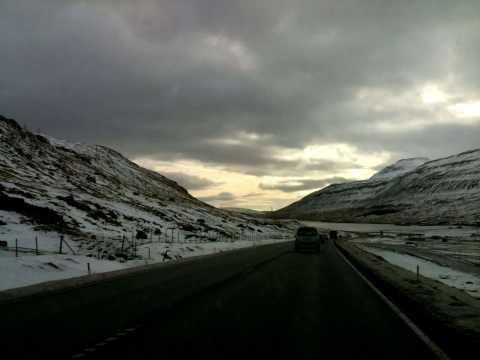 From Torshavn to Klaksvik. Faroe Islands. (Denmark)