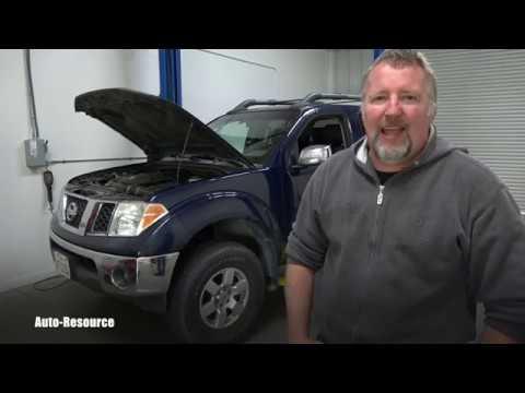 Nissan Frontier MAF sensor cleaning
