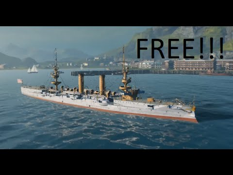 World of Warships - FREE RARE PREMIUM WARSHIP! Bonus code, Wargaming  anniversary
