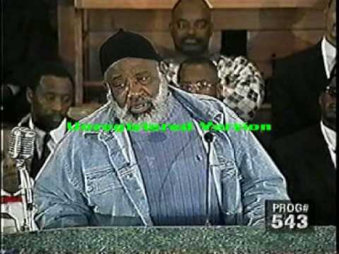 Pastor Gino Jennings Dicussion With The Nation Of Islam Pt3