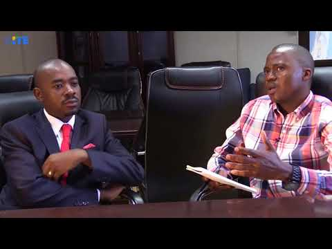 Interview with MDC-T President Nelson Chamisa