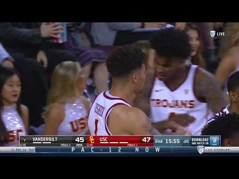 Men's Basketball: USC 78, Vanderbilt 82 - Highlights 11/11/2018