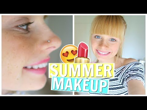 SUMMER 2017 MAKE-UP ROUTINE ❤ Mia's Life ❤