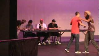 Showdown in Sin City SEMI FINALS Top 4 Randm Rok (SoulBotics Krew) vs Jon Boogz (Control F ...