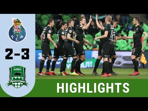 FC Porto vs Krasnodar 2 - 3 Highlights  |  UEFA Champions League 19 20 Qualifiers