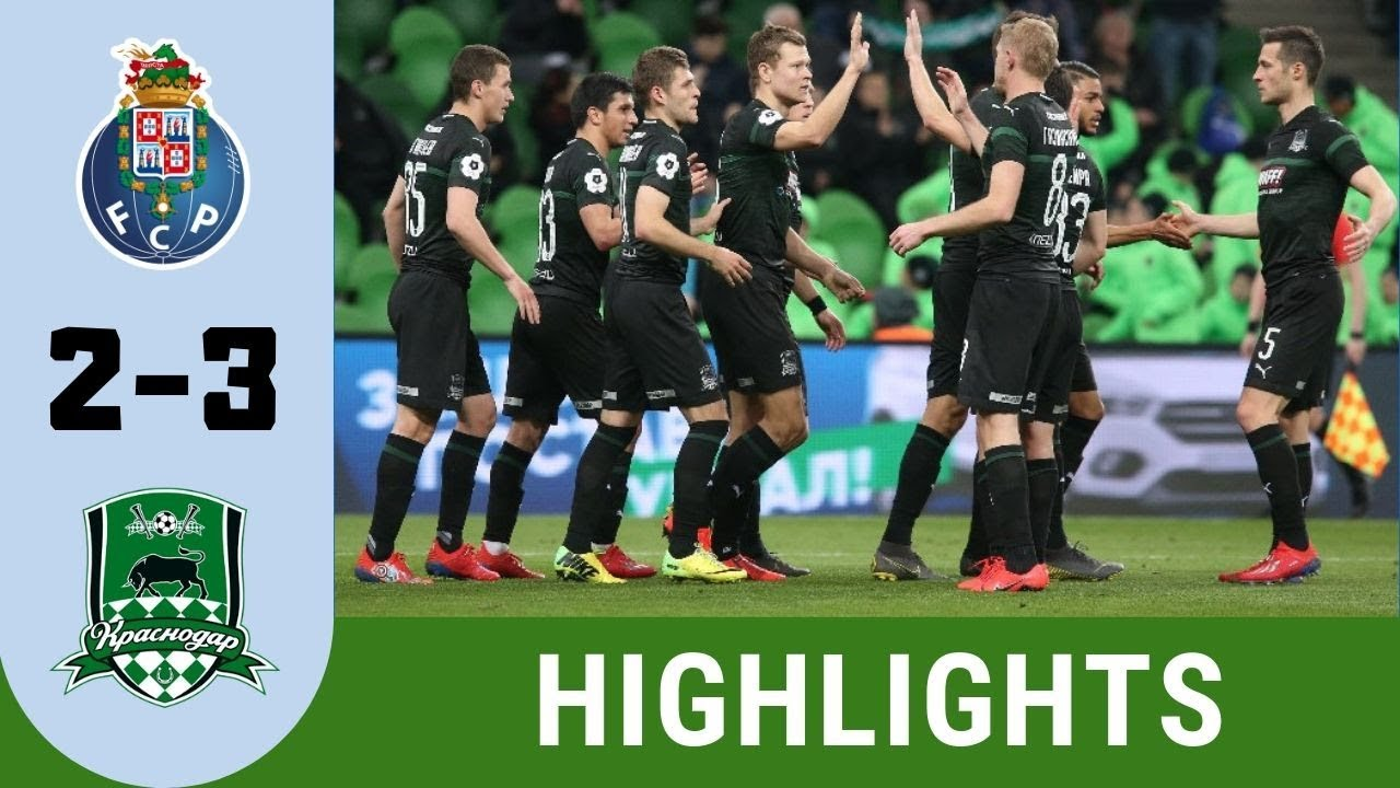 Fc Porto Vs Krasnodar 2 3 Highlights Uefa Champions League 19 20 Qualifiers Youtube